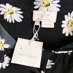 kate spade Pants - New KATE SPADE $348 daisy crepe romper 10 NWT  NW